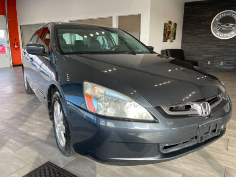 2005 Honda Accord for sale at Evolution Autos in Whiteland IN