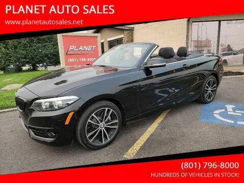 2020 BMW 2 Series for sale at PLANET AUTO SALES in Lindon UT