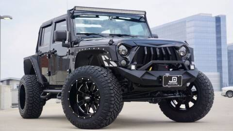 2013 Jeep Wrangler Unlimited for sale at JD MOTORS in Austin TX