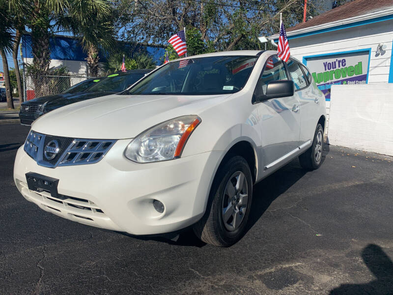 2013 Nissan Rogue for sale at Bargain Auto Sales in West Palm Beach FL