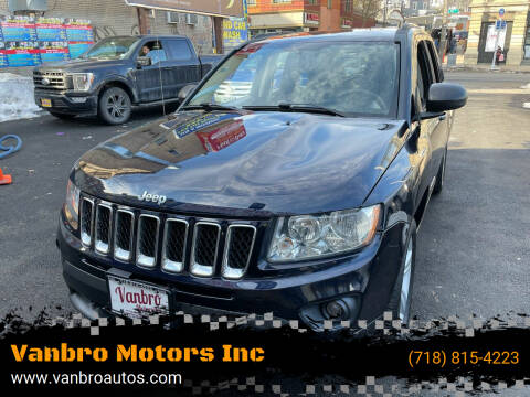 2011 Jeep Compass for sale at Vanbro Motors Inc in Staten Island NY