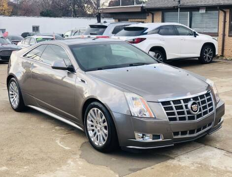 2012 Cadillac CTS for sale at Safeen Motors in Garland TX