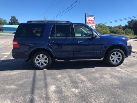 2009 Ford Expedition for sale at Mac's Auto Sales in Camden SC