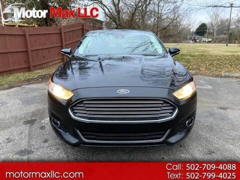 2015 Ford Fusion for sale at Motor Max Llc in Louisville KY