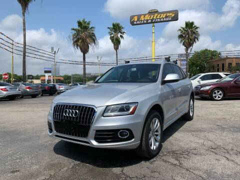 2014 Audi Q5 for sale at A MOTORS SALES AND FINANCE in San Antonio TX