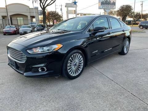 2014 Ford Fusion Hybrid for sale at CityWide Motors in Garland TX