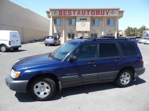 2002 Subaru Forester for sale at Best Auto Buy in Las Vegas NV