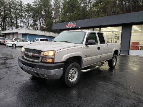 2004 Chevrolet Silverado 2500HD for sale at Curtis Lewis Motor Co in Rockmart GA