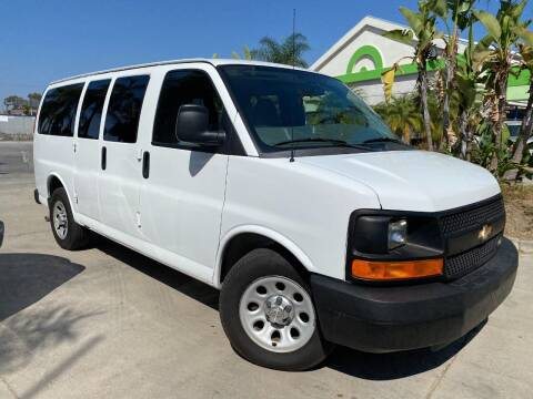 2012 Chevrolet Express Passenger for sale at Luxury Auto Lounge in Costa Mesa CA