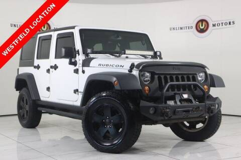 2013 Jeep Wrangler Unlimited for sale at INDY'S UNLIMITED MOTORS - UNLIMITED MOTORS in Westfield IN