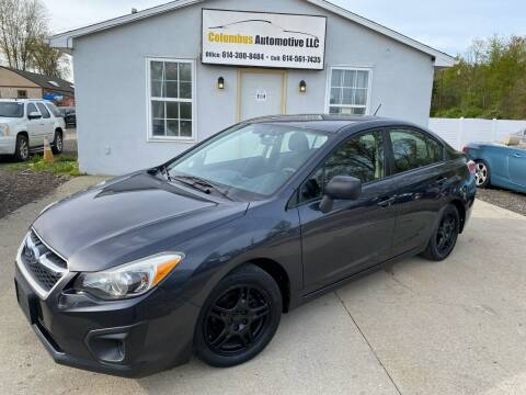2013 Subaru Impreza for sale at COLUMBUS AUTOMOTIVE in Reynoldsburg OH