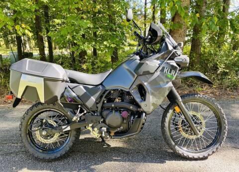 2022 Kawasaki KLR®650 Adventure Camo for sale at Street Track n Trail in Conneaut Lake PA