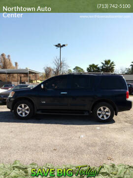 2008 Nissan Armada for sale at Northtown Auto Center in Houston TX