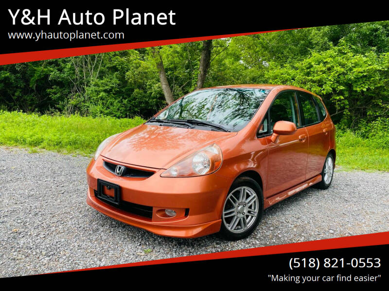 2008 Honda Fit for sale at Y&H Auto Planet in West Sand Lake NY