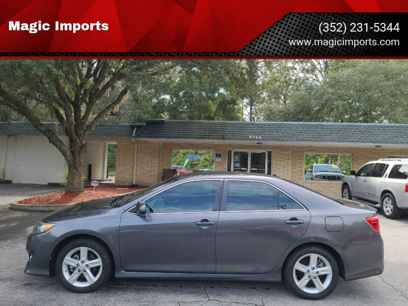 2014 Toyota Camry for sale at Magic Imports in Melrose FL