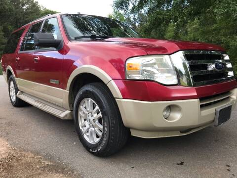 2007 Ford Expedition EL for sale at ATLANTA AUTO WAY in Duluth GA