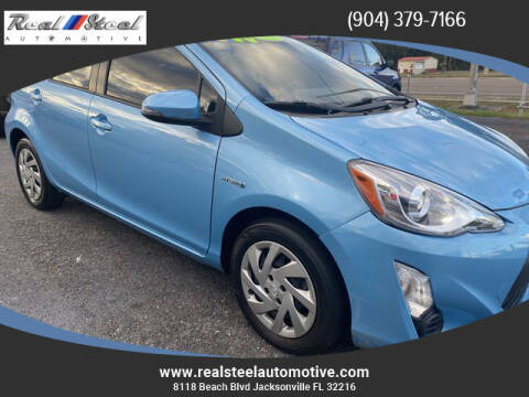 2015 Toyota Prius c for sale at Real Steel Automotive in Jacksonville FL