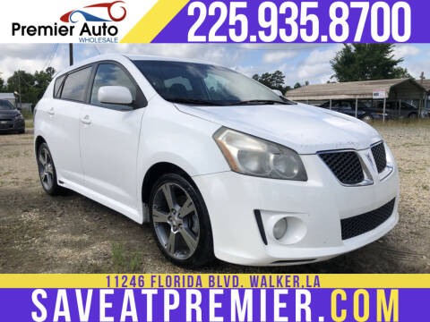 2009 Pontiac Vibe for sale at Premier Auto Wholesale in Baton Rouge LA