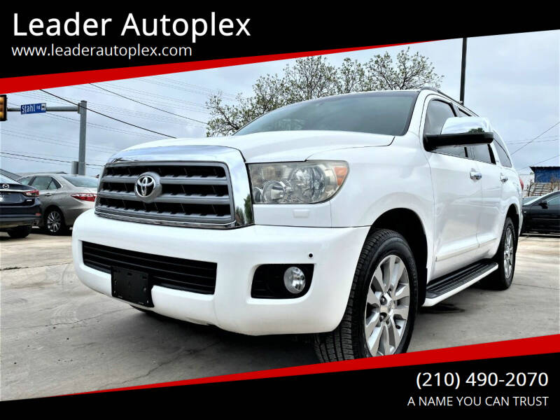 2010 Toyota Sequoia for sale at Leader Autoplex in San Antonio TX