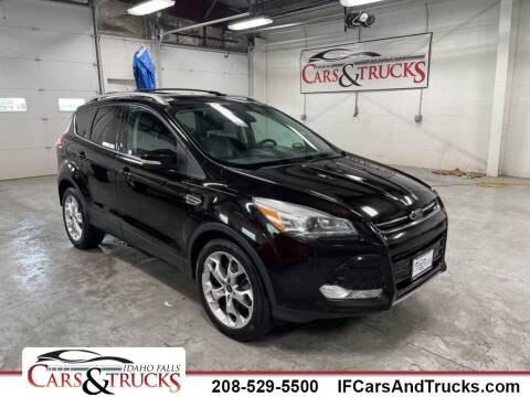 2013 Ford Escape for sale at Idaho Falls Cars and Trucks in Idaho Falls ID
