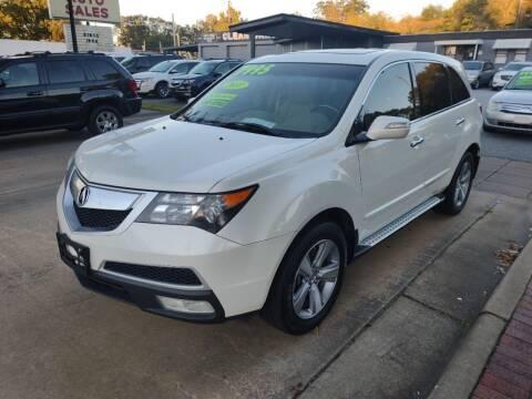 2011 Acura MDX for sale at DON BAILEY AUTO SALES in Phenix City AL