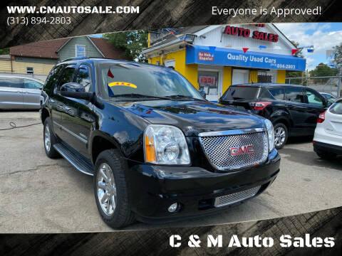 2013 GMC Yukon for sale at C & M Auto Sales in Detroit MI