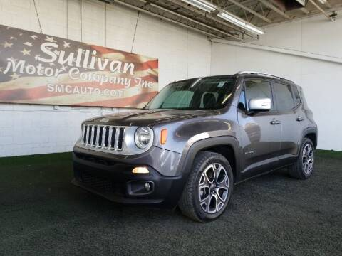 2016 Jeep Renegade for sale at SULLIVAN MOTOR COMPANY INC. in Mesa AZ