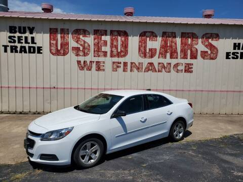 2016 Chevrolet Malibu for sale at Yates Brothers Motor Company in Fort Worth TX