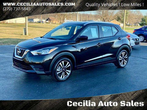 2020 Nissan Kicks for sale at Cecilia Auto Sales in Elizabethtown KY