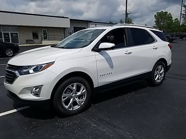 2021 Chevrolet Equinox for sale at MIG Chrysler Dodge Jeep Ram in Bellefontaine OH