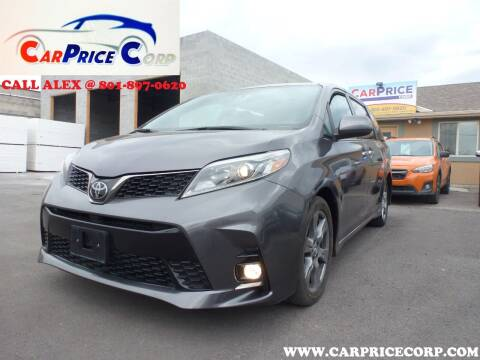 2018 Toyota Sienna for sale at CarPrice Corp in Murray UT