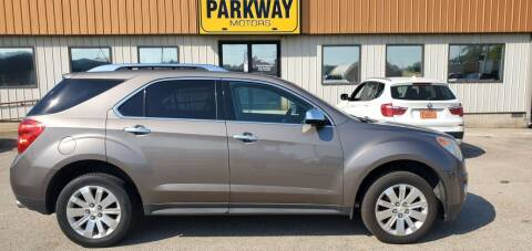 2011 Chevrolet Equinox for sale at Parkway Motors in Springfield IL