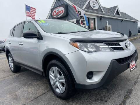 2013 Toyota RAV4 for sale at Cape Cod Carz in Hyannis MA