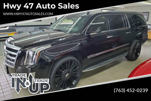 2015 Cadillac Escalade ESV for sale at Hwy 47 Auto Sales in Saint Francis MN