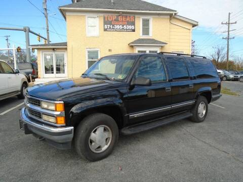 1999 Chevrolet Suburban for sale at Top Gear Motors in Winchester VA