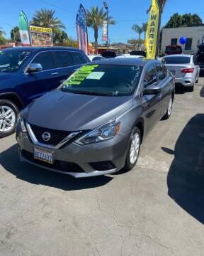 2019 Nissan Sentra for sale at 2955 FIRESTONE BLVD - 3271 E. Firestone Blvd Lot in South Gate CA