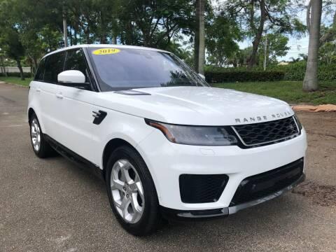 2019 Land Rover Range Rover Sport for sale at DELRAY AUTO MALL in Delray Beach FL