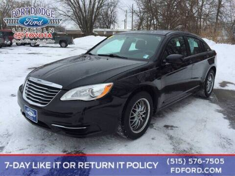 2014 Chrysler 200 for sale at Fort Dodge Ford Lincoln Toyota in Fort Dodge IA