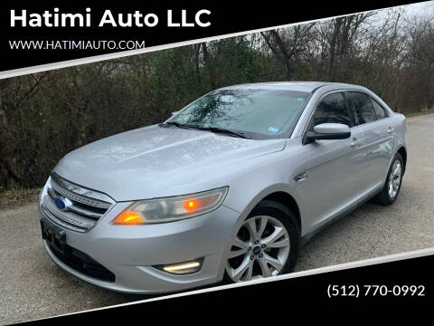 2011 Ford Taurus for sale at Hatimi Auto LLC in Buda TX