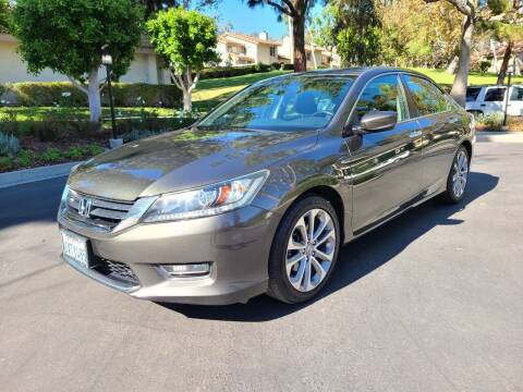 2013 Honda Accord for sale at E MOTORCARS in Fullerton CA