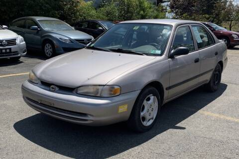 2000 Chevrolet Prizm for sale at COLLEGE MOTORS Inc in Bridgewater MA