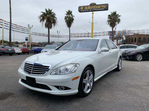 2008 Mercedes-Benz S-Class for sale at A MOTORS SALES AND FINANCE in San Antonio TX