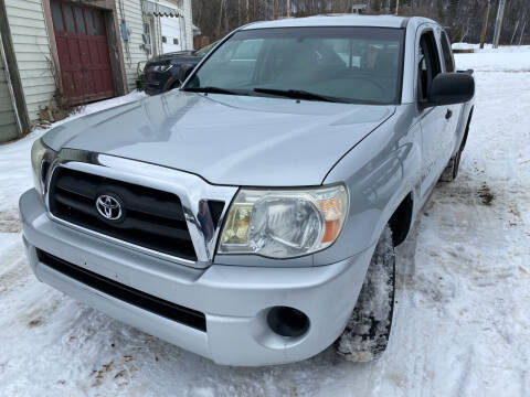 2005 Toyota Tacoma for sale at Richard C Peck Auto Sales in Wellsville NY