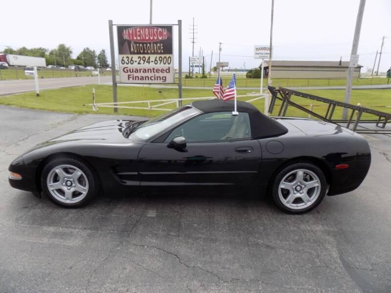 1998 Chevrolet Corvette for sale at MYLENBUSCH AUTO SOURCE in O'Fallon MO