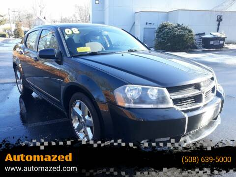 2008 Dodge Avenger for sale at Automazed in Attleboro MA