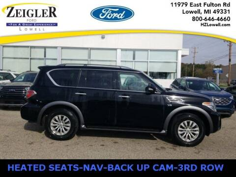 2019 Nissan Armada for sale at Zeigler Ford of Plainwell- Jeff Bishop in Plainwell MI
