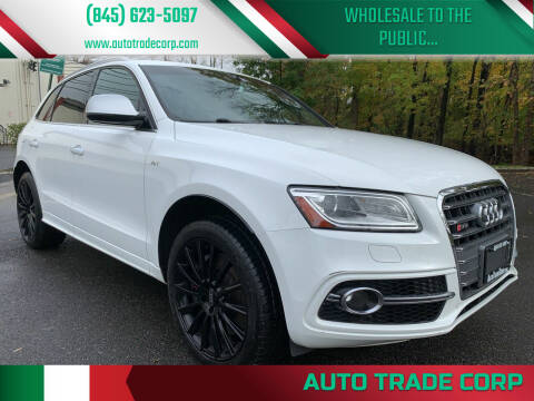 2015 Audi SQ5 for sale at AUTO TRADE CORP in Nanuet NY