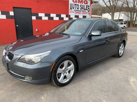 2008 BMW 5 Series for sale at GMG AUTO SALES in Scranton PA