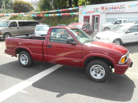 1997 Chevrolet S-10 for sale at Ricciardi Auto Sales in Waterbury CT