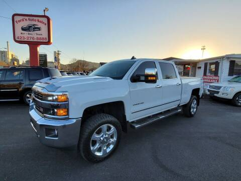 2017 Chevrolet Silverado 2500HD for sale at Ford's Auto Sales in Kingsport TN
